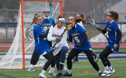 C-NS girls lax edges Westhill; Warriors move to 4-0