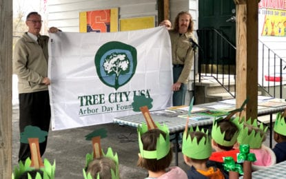 Fayetteville celebrates Arbor Day at CEDS