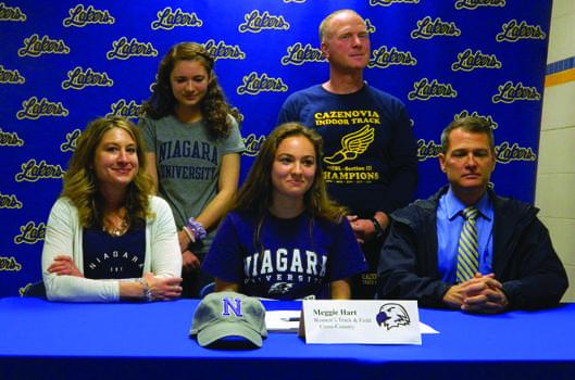 Hart to run Division 1 at Niagara University