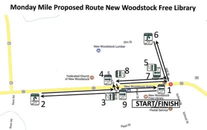Monday Mile walking route coming to New Woodstock