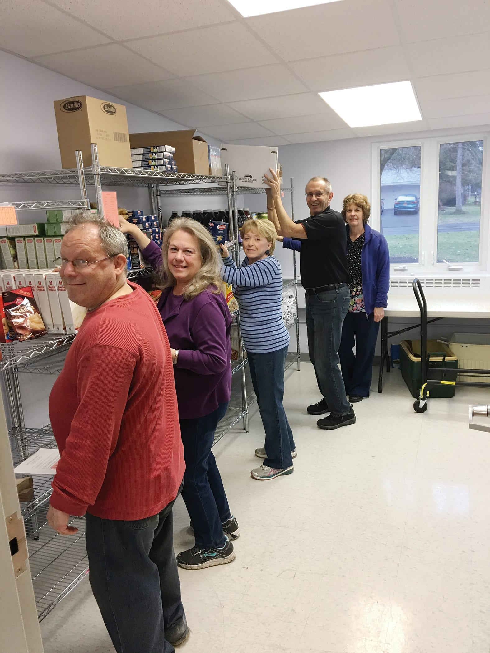 Bayberry's UCC Food Pantry moves to a bigger, brighter room