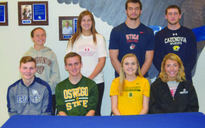 JE athletes sign letters of intent