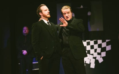 THEATRE REVIEW: 'Chess' score soars
