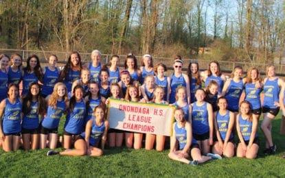 Track girls capture league title