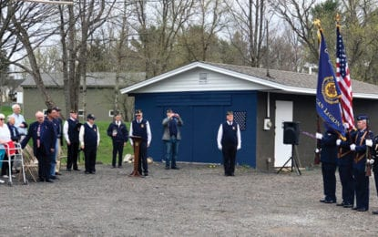 Post 88 celebrates Vet's Field renovation with opening ceremony