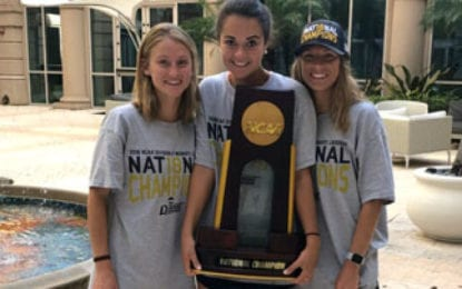 Three Caz alum on national champion lacrosse team