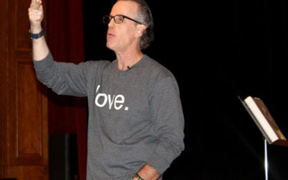 Motivational speaker teaches F-M students that 'other people matter'