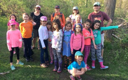 F-M Brownie troop creates Monarch butterfly habitat in Mill Run Park