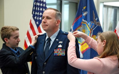 Manlius resident promoted to colonel in the New York Air National Guard