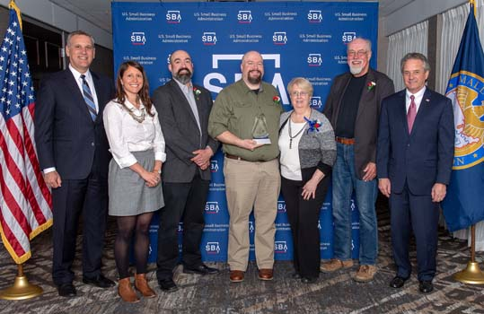Old Home Distillers wins SBA Small Business Excellence Award