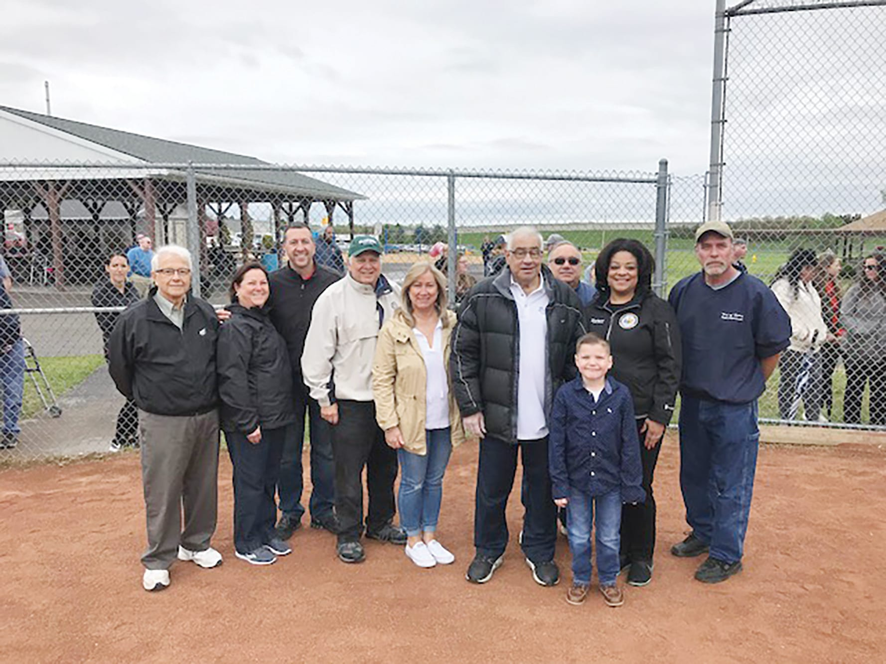 Del Vecchio honored for Little League volunteerism