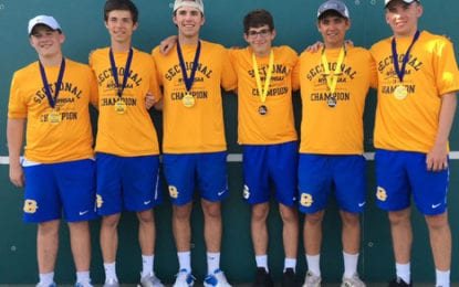 Cazenovia boys tennis wins sectional C-1 title