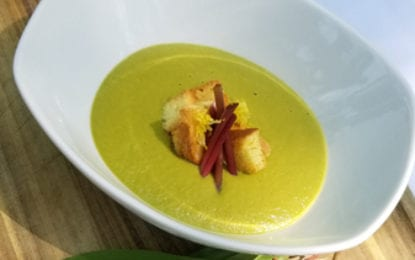 WHAT WE'RE EATING: Asparagus Bisque