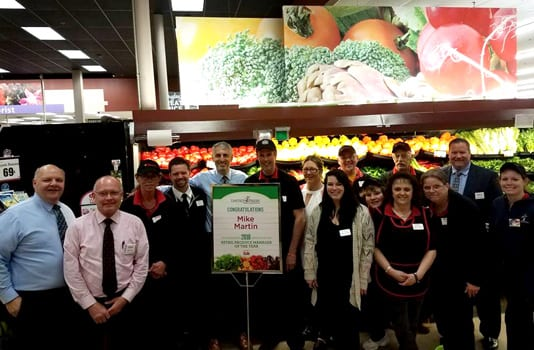 Manlius Tops produce manager honored by United Fresh