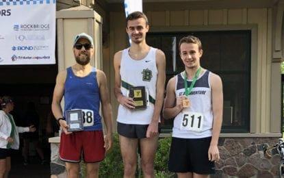 F-M graduate wins 8K Trail Race at Green Lakes