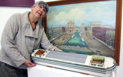 Erie Canal showcased at New Woodstock Free Library