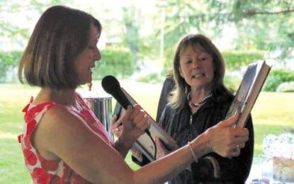 Master Gardener Janine Golub honored at Lorenzo State Historic Site's Garden Gala