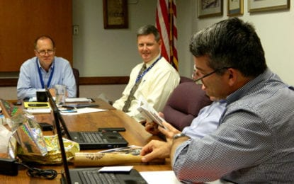 Caz school board says farewell to two members