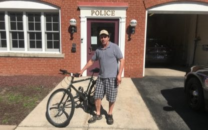 Bicycle bliss: L'pool officer goes the extra mile for crime victim