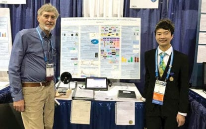 F-M student receives three awards at international science fair