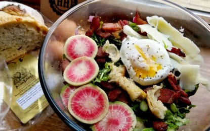 WHAT WE'RE EATING: Spring Panzanella