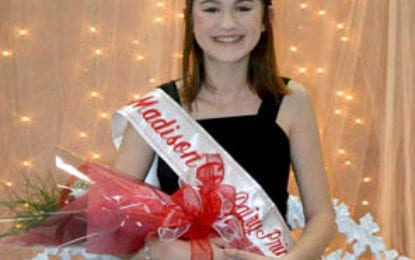 Cazenovia teen crowned Madison County Dairy Princess