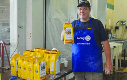 Rotary pancake breakfast: The product of the work of many