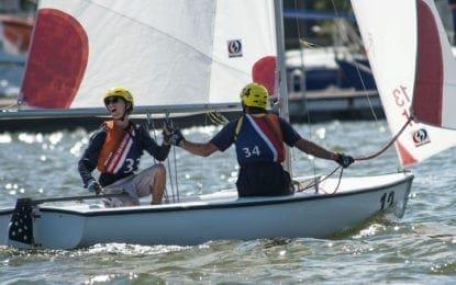 Local Sea Scouts participate in international regatta