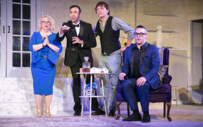THEATRE REVIEW: Laying an 'Egg' — Broadway parody produces beaucoup belly-laughs at CNY Playhouse