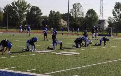 C-NS football plunges into sectional title defense