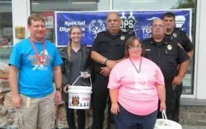 Caz police raise nearly $3,000 for Special Olympics