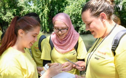 Students become citizen scientists during Honeywell Week