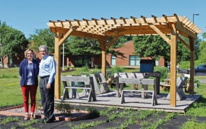NOPL news: New pergola provides space for reading and learning outdoors
