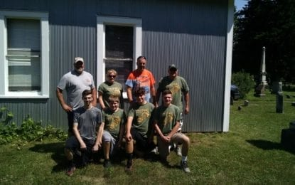 Troop 119 spruces up Jacksonville Cemetery