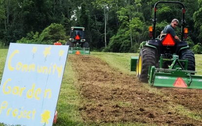 Cazenovia community garden gets started with groundbreaking