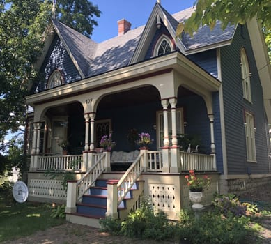 Gothic Revival home in Fayetteville named Building of the Month