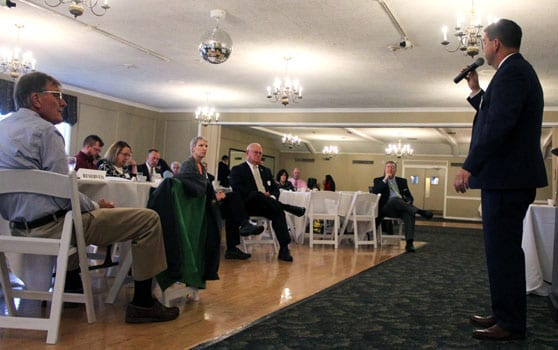 Candidates share their views at annual Manlius Political Breakfast