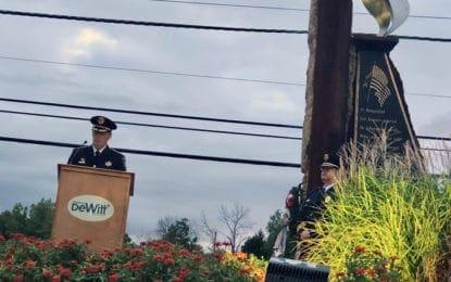 DeWitt honors victims, veterans of 9/11