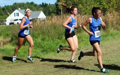 Caz Girls cross country team races well at ES-M