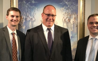 Hale named new bishop of Fayetteville Ward of The Church of Jesus Christ of Latter-day Saints