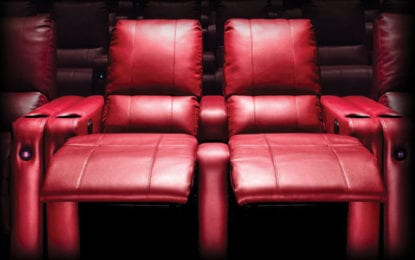 Oneida Movieplex installs new plush, fully reclining chairs