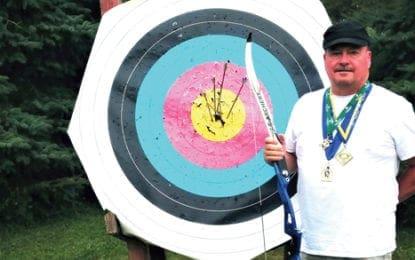 TRIPLE GOLD WINNER: Caz man, cancer survivor, wins three gold medals in three states