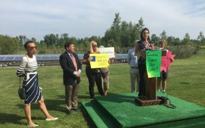 Renewable energy advocates urge Cuomo to roll back 'Darth VDER'