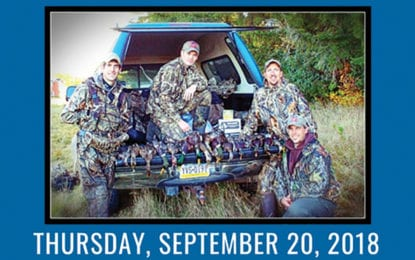 Sportsmen's Dinner welcomes 'The Call Outdoors' Sept. 20 at Driver's Village