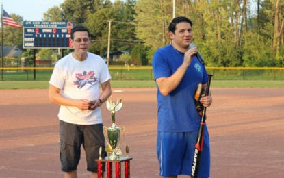 A 'dream' come true:  Carrier Park Field of Dreams gets $18k from Syracuse Challenger Baseball