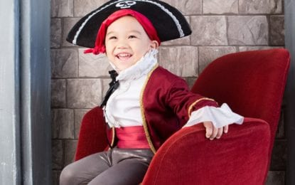 From the Liverpool Public Library: A pirate you'll be — or at least you'll sound like one
