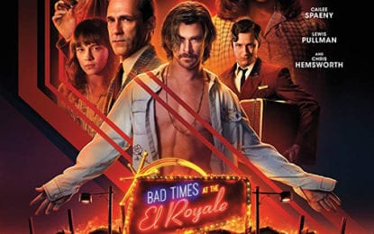 MOVIE REVIEW: 'Bad Times at the El Royale' is a good time for moviegoers