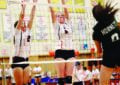 Liverpool girls volleyball beats F-M in five sets