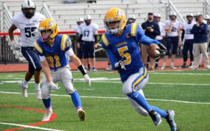 Caz ousts Homer, 61-21, in Class B football sectionals