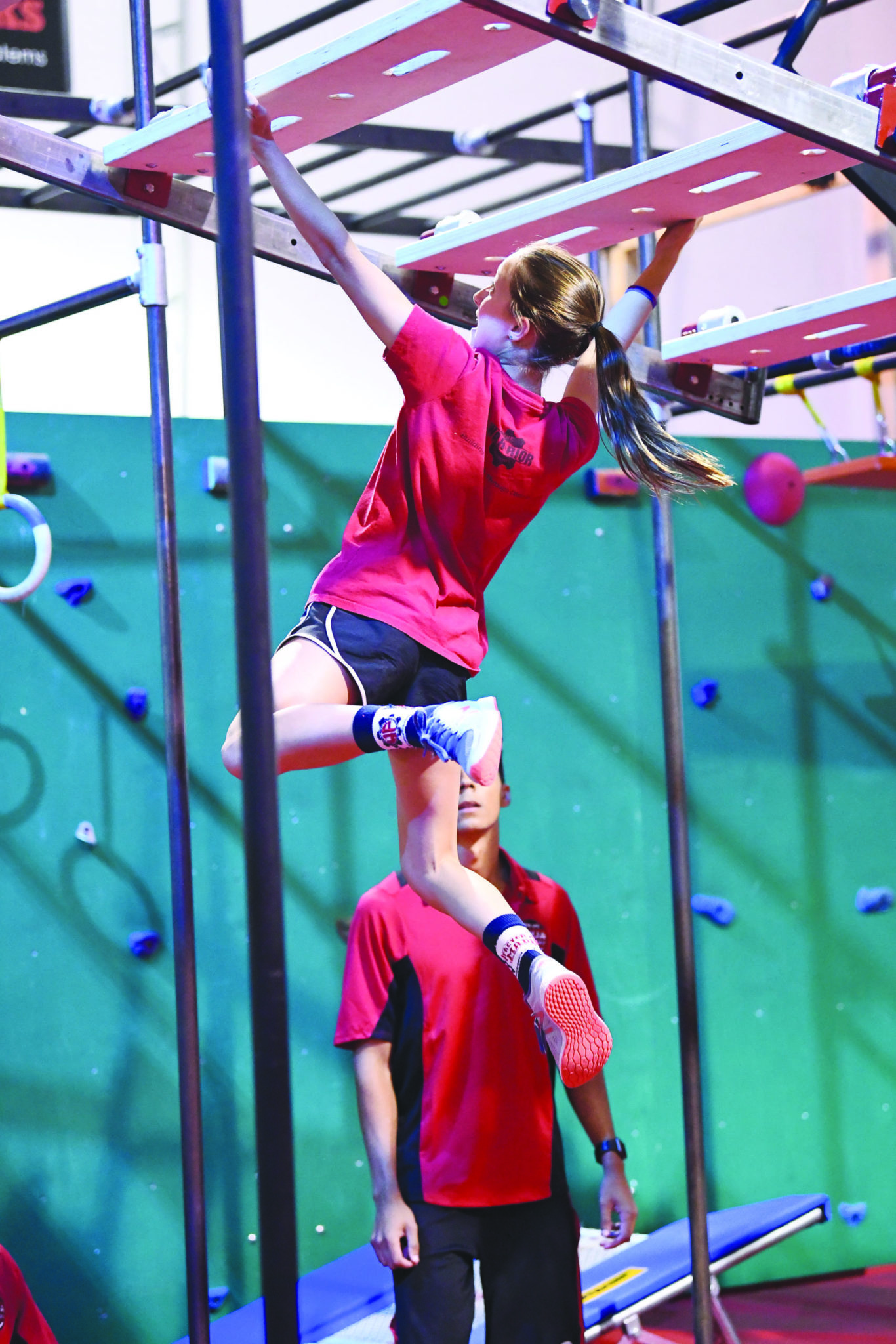 eagle news  marcellus student    american ninja warrior junior  weekend